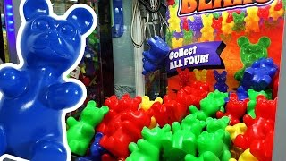 Squeaky Gummy Bears - Claw Machine Wins