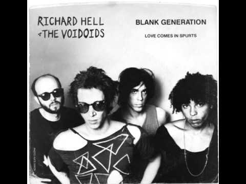 "Richard Hell & The Voidoids ""Blank Generation"""