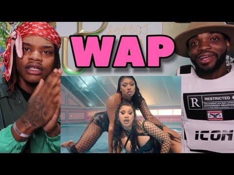 Cardi B – WAP feat. Megan Thee Stallion [Official Music Video] (REACTION)