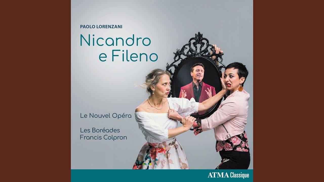 Nicandro e Fileno, Act III: Filli è l'anima mia