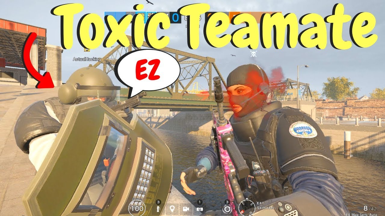 Trolling Toxic Players in Rainbow Six Siege thumbnail