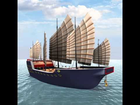 300 Foot Chinese Junk Ship (50% LIMITED TIME OFFER) 3D model from CGTrader.com