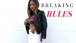Breaking Rules- A Rebellious Lookbook feat. Victoria
