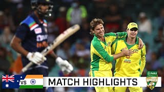 Smith, Zampa shine in high-scoring first ODI | Dettol ODI Series 2020