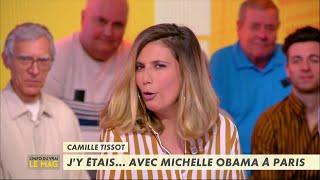 Camille Tissot était avec Michelle Obama ! - L'Info du Vrai du 24/04 - CANAL+