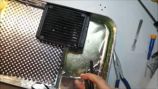 extreme teardown corsair h60 closed loop water cooler