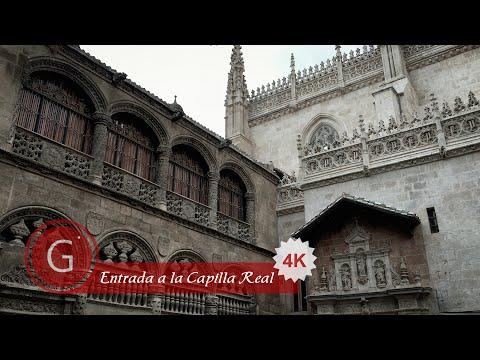 GRANADA   CENTRO   Catedral. Entrada a la Capilla Real desde calle Oficios, junto a calle Estribo.