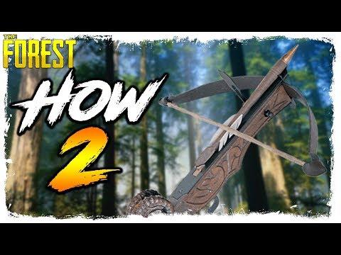 The Forest | HOW TO GET THE CROSSBOW | New Weapon