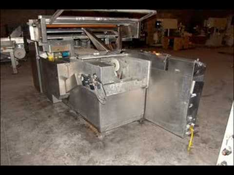 Used Shanklin Stainless Steel Flow Wrapper, Model HS4SSS