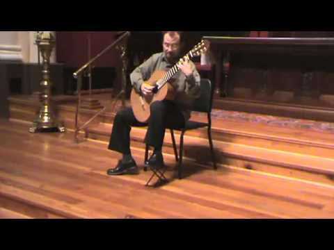 James Manuele plays Three Mexican Folk Songs by M. Ponce
