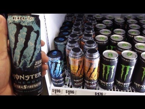 Monster Black Ice Energy Drink Run @ H-E-B Plus!