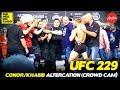 UFC 229: Conor McGregor/Khabib Altercation (CROWD CAM)