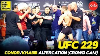 UFC 229: Conor McGregor/Khabib Altercation (CROWD CAM)