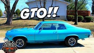 Review: 1974 Pontiac GTO Ventura automatic transmission