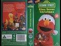 Sesame Street - Elmo Saves Christmas (1997, UK VHS)
