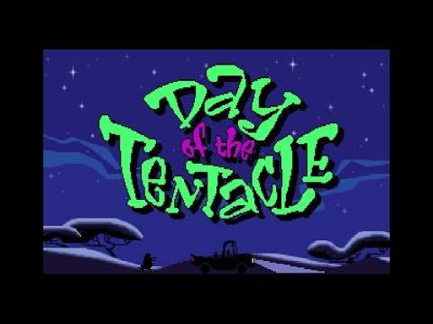 Day of the Tentacle - Intro/Opening FR (Roland MT-32) PC MS-DOS Game, 1993