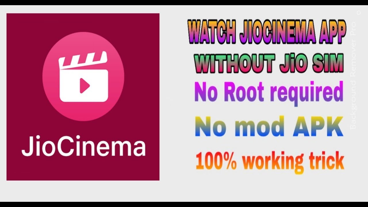 14 5 MB) Jio cinema watch on without jio sim and card any sim card