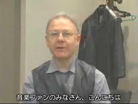 Robert Fripp (King Crimson) - Interview in Japan 2002