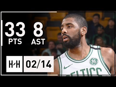 Kyrie Irving Full Highlights Celtics vs Clippers (2018.02.14) - 33 Points, 8 Assists!