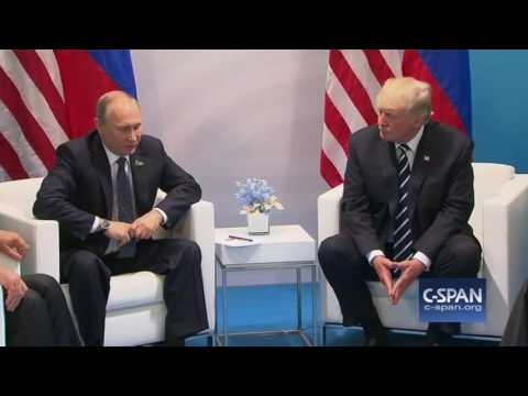 President Trump and at G-20 Summit (C-SPAN)
