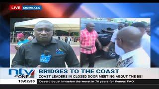 Raila Odinga arrives in Mombasa ahead of BBI rally