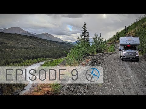 Trouble with Wildlife, Canol Road, Top of the World Highway & Crossing into Alaska! | Go North Ep 9