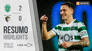 Highlights   Resumo: Sporting 2-0 Portimonense (Liga 20/21 #20)