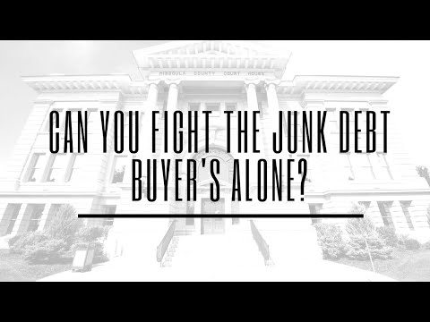 Can You Fight the Junk Debt Buyers on Your Own?