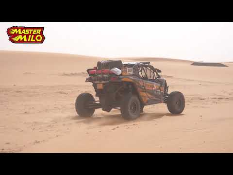 Can Am buggy through the dunes