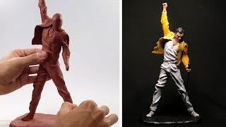 Freddie Mercury Sculpture (Time Lapse)  | QUEEN
