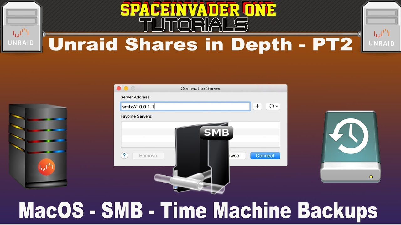 Unraid Shares in Depth - PT2 - MacOS - SMB - Time machine Backups