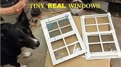 Shed windows for box trailers, sheds, cargo containers, and vans.