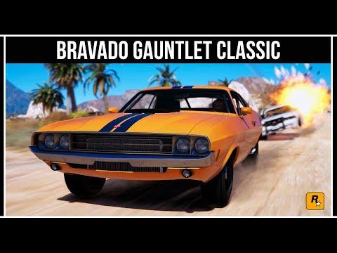 GTA Online: Обзор легендарного маслкара Gauntlet Classic