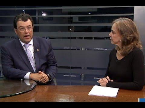 É hora de o Congresso formular uma política integrada de segurança, diz Eduardo Braga