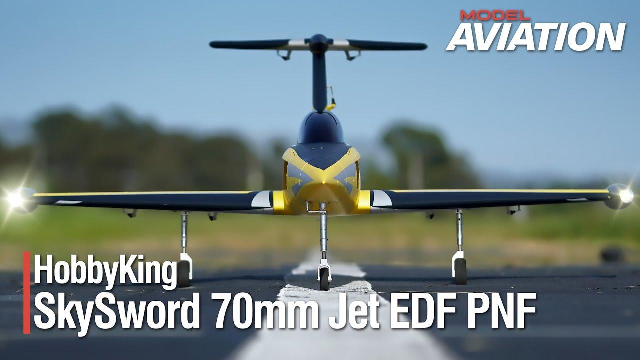 HobbyKing 70mm SkySword Jet EDF PNF - Model Aviation magazine