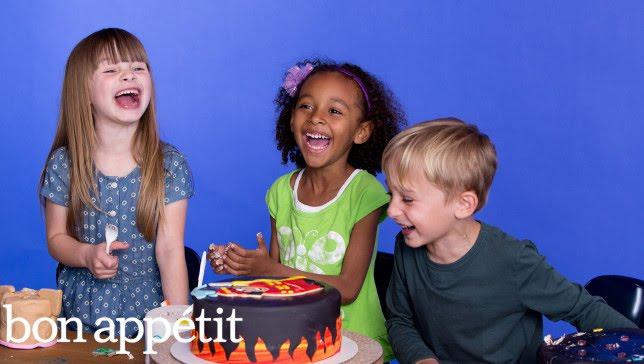 Fallon, Alexandra and Luka Describe Their Dream Cake | Most Amazingest Cakes