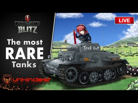 The most rare tanks in WoT Blitz