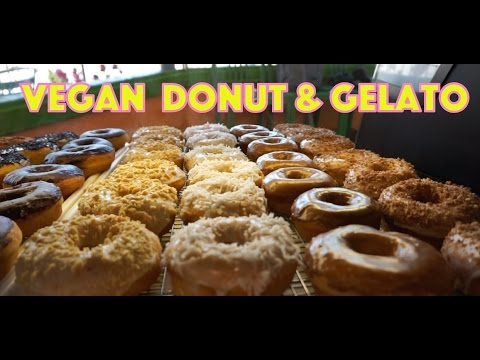 Vegan Donut Gelato - Modesto and Oakland California!!
