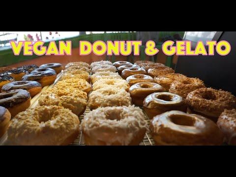 Vegan Donut Gelato - Modesto and Oakland California!!