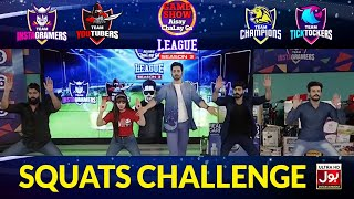 Squats Challenge | Game Show Aisay Chalay Ga League Season 3
