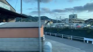 JR九州◆ 【かもめ】側面展望