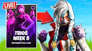 Trios Champion Series Tournament!! (Fortnite Battle Royale)
