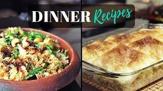 Dinner Recipes / Kheema Biriyani / Baked Chicken Pasta
