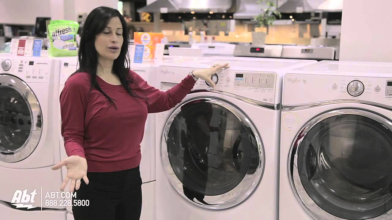 Duet Steam Front Load Washer Wfw96heaw Whirlpool At Abt
