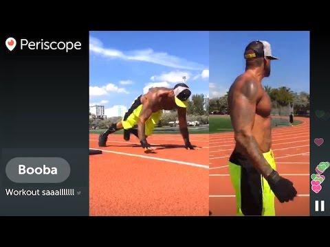 "BOOBA ""Workout saaalllllll"" | LIVE Periscope | 02.03.2016"