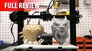 Creality CR-10 3D Printer Review - Big, Badass & Hard to Beat!