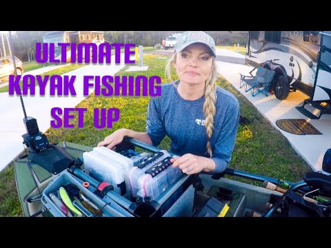 KAYAK FISHING - Rigging The HOBIE Pro Angler 14