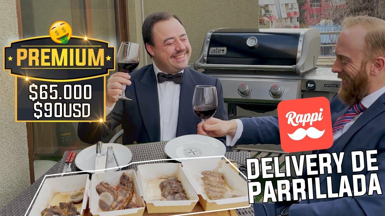 Probando Parrilladas de Delivery 2.0 (Rappi, Pedidosya, Uber Eats, etc.)