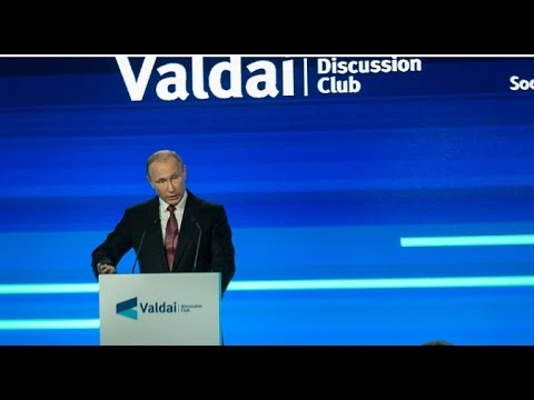 Putin confronts the 'New World Order' (Valdai Part 2 of 2)