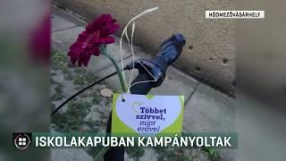 Iskolakapuban kampányoltak Hódmezővásárhelyen 19-09-02